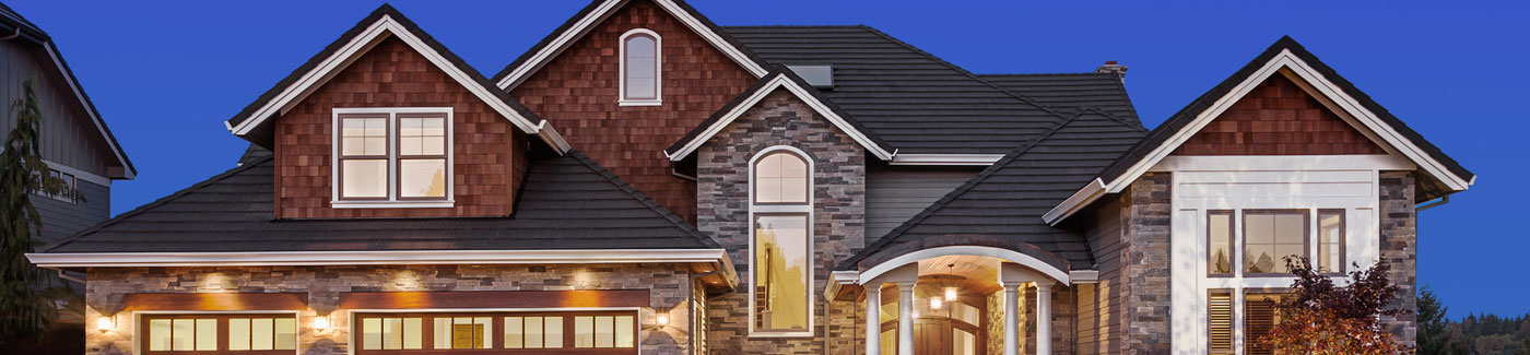 Brick Shingle Home Siding