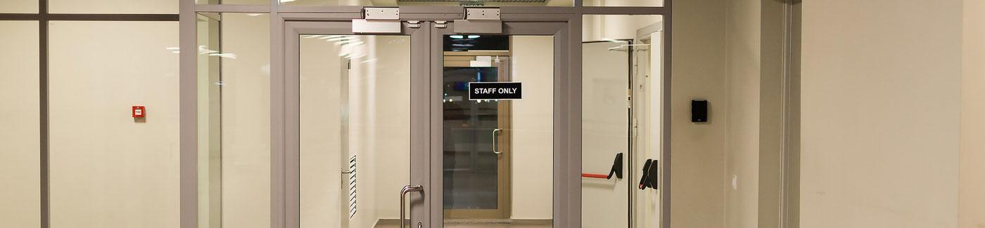 Commercial Entryway Glass Doors