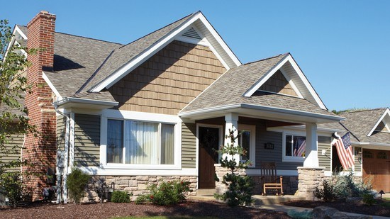 Natural Shake Shingle Siding