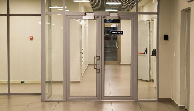 Office Building Doors