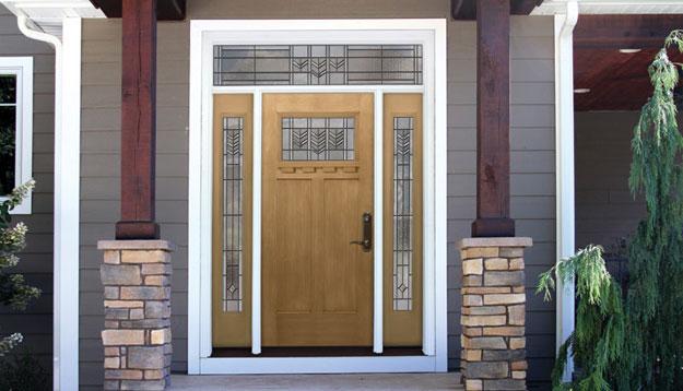Signet Door and Windows on Porch